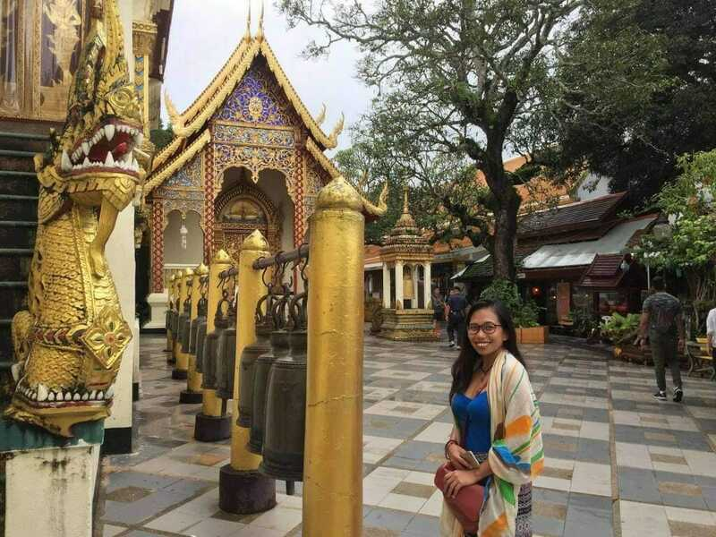 What to wear when visiting a temple, Chiang Mai, Thailand