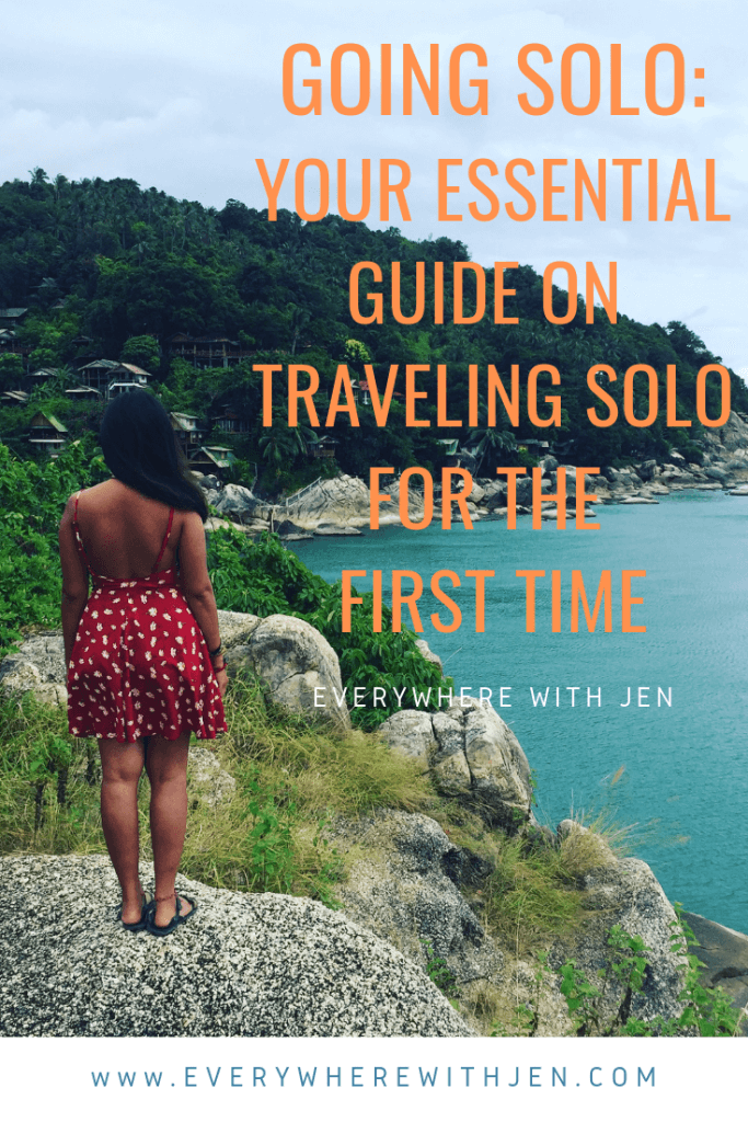 how to travel solo for the first time
