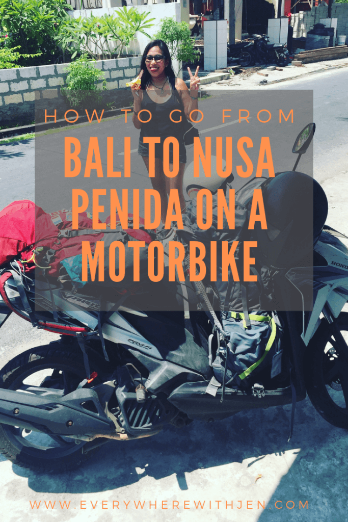 how to go from bali to nusa penida