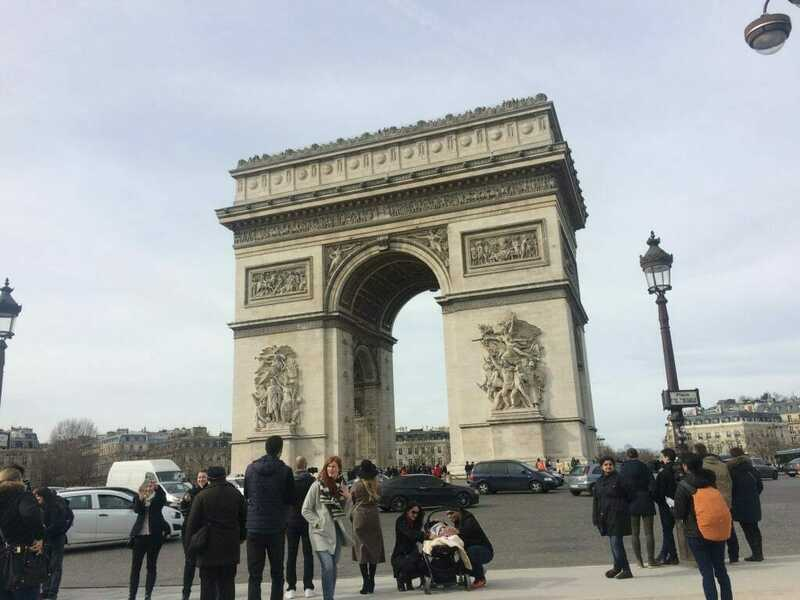 Arc de triomphe - best things to do in Paris in 2 days