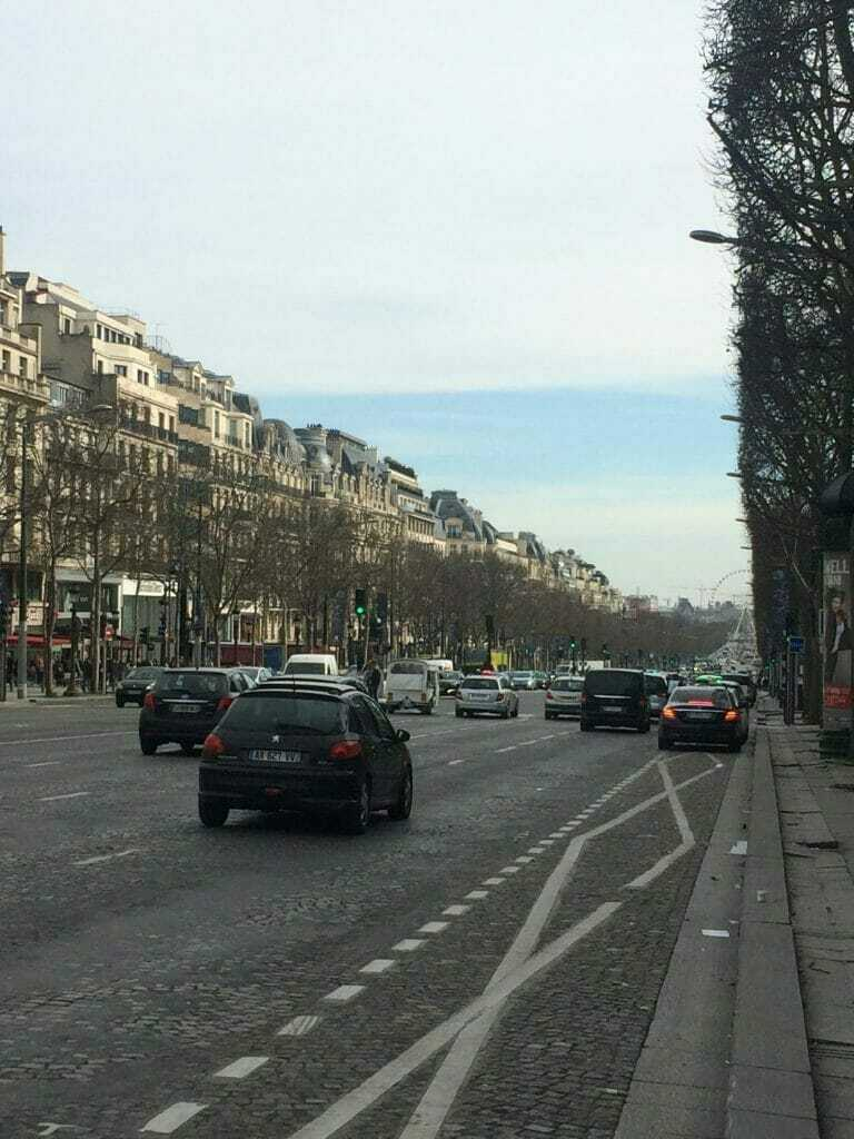 Champs Elysee- best things to do in paris in 2 days