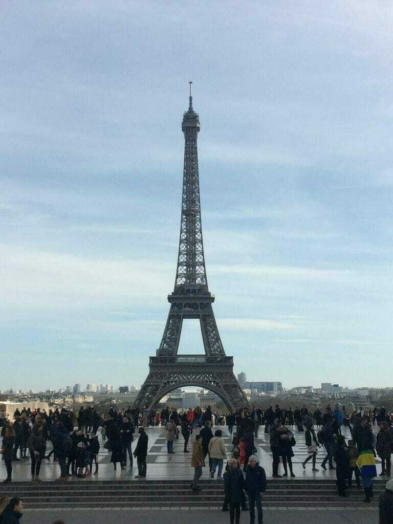 Trocadero - best things to do in Paris in 2 days