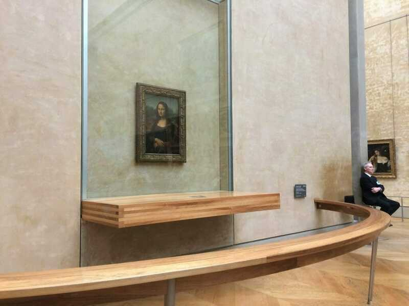 Mona Lisa - best things to do in Paris in 2 days