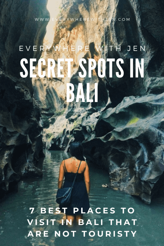 7 BEST PLACES TO VISIT IN BALI THAT ARE NOT TOURISTY - secret spots in bali