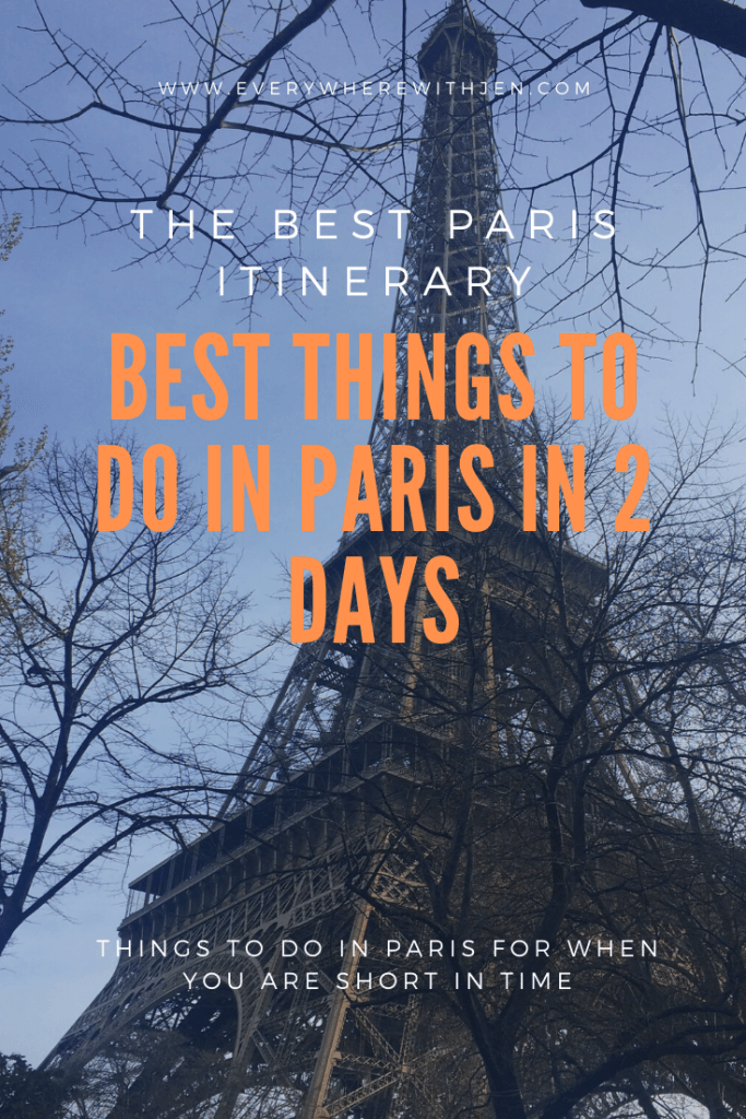 Best things to do in Paris in 2 days