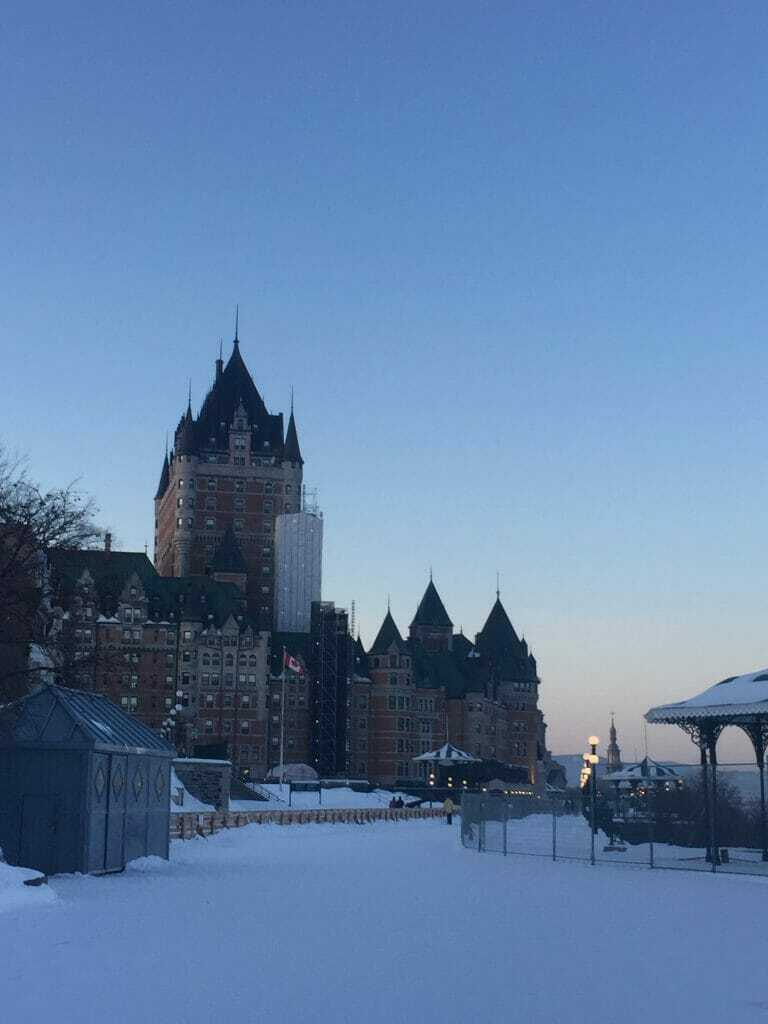 Things to do in Winter in Quebec City  in 2 days: Chateau Frontenac, Quebec City